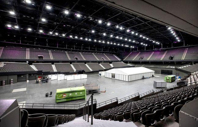 Le 16 mai 2020, la Ahoy Arena de Rotterdam s'apprête à accueillir des malades du Covid-19.