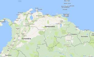 Google maps - Venezuela