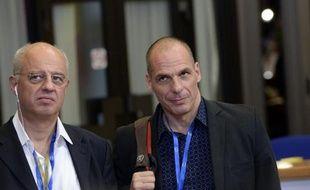 Le ministre grec des Finances Yanis Varoufakis le 22 juin 2015 à Bruxelles