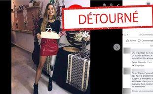 La photo de cette mannequin Brésilienne porteuse d'un handicap a été détournée.