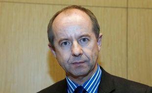 Jean-Jacques Urvoas, alors député socialiste, le 29 novembre 2012 à Paris
