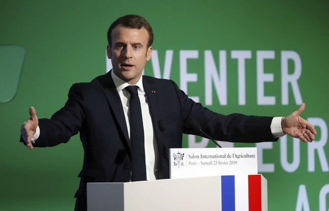Salon de l'agriculture: Emmanuel Macron plaide pour la «souveraineté alimentaire» du continent européen
