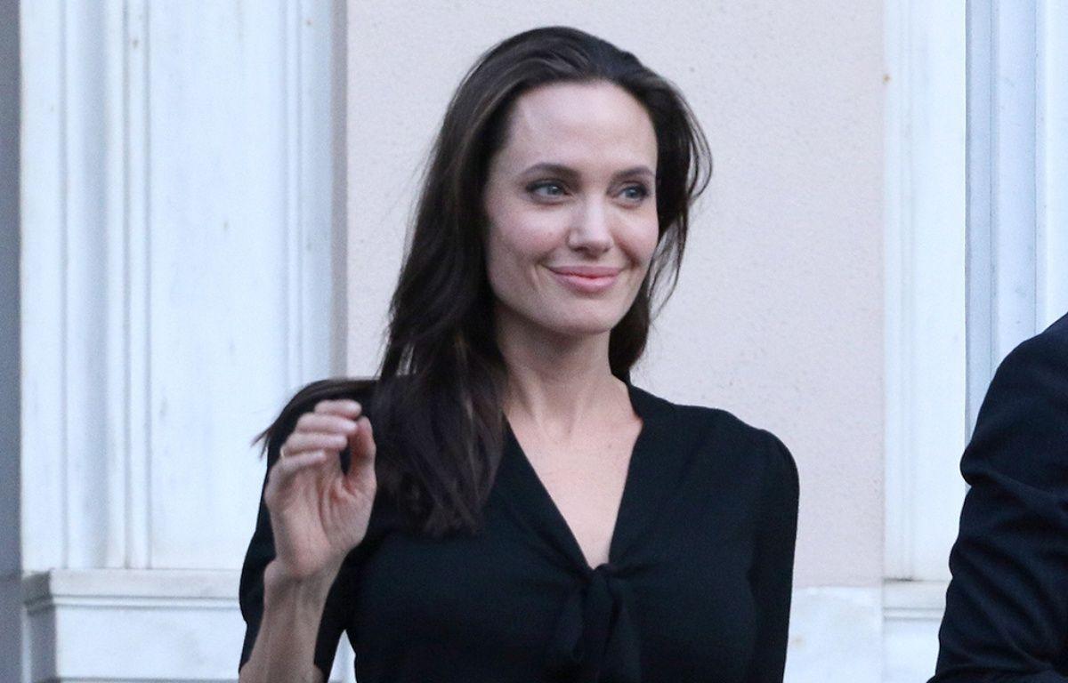 Angelina Jolie lors d'un déplacement à Athènes – Papadakis Press/WENN.com