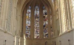 La chapelle, après trois ans de travaux.