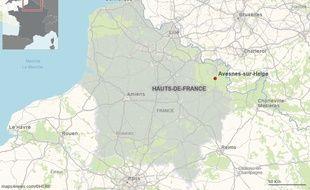 La ville d'Avesnes-sur-Helpe, dans le Nord.