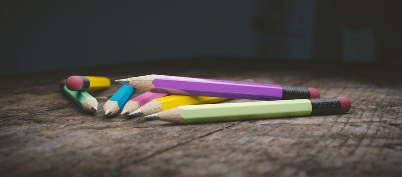 Illustration de crayons à papier.