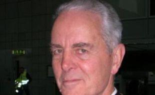 L'évêque britannique Richard Williamson, qui maintient que les chambres à gaz n'ont pas existé et n'ont pas été utilisées pour exterminer les Juifs pendant la Seconde guerre mondiale. Fin janvier 2009.