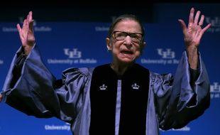 Ruth Bader Ginsburg, ancienne juge de la Cour suprême