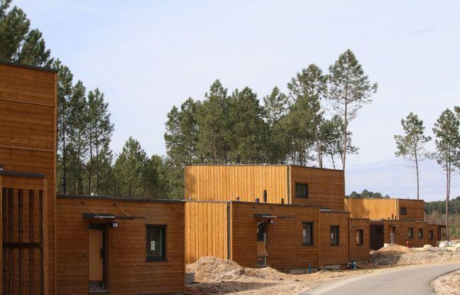 Les 401 cottages du Center Parcs des Landes de Gascogne sont en ossature bois