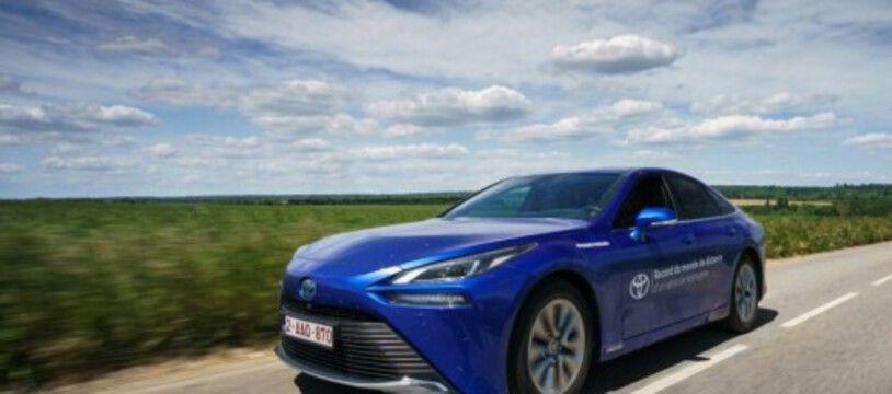 Record d'autonomie pour la Toyota Mirai