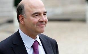 Pierre Moscovici, le ministre de l'Economie, le 13 février 2013