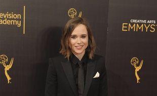 L'actrice Ellen Page aux Emmy Awards 2016.