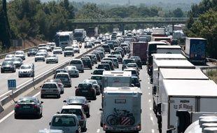 Illustration de l'autoroute A7