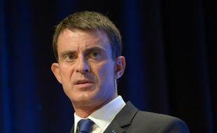 Manuel Valls le 16 octobre 2015 à Paris