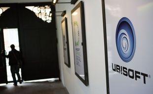 Illustration: le logo de l'éditeur Ubisoft.