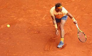 Rafael Nadal a été battu en demi-finale du tournoi de Madrid par Andy Murray, le 7 mai 2016.