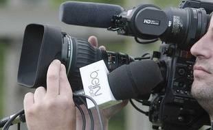 Une caméra de BeIn Sport en juillet 2012 à Lille.