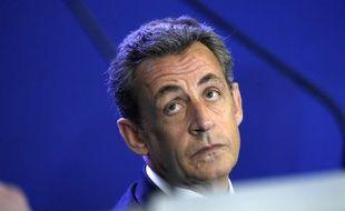 Le président de l'UMP, Nicolas Sarkozy, le 17 janvier 2015 à Paris