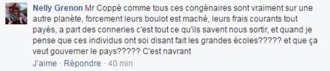 Réaction au post de Baptiste Beaulieu.
