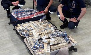 Les cigarettes saisies représentaient une valeur à la revente de 12.530 euros.