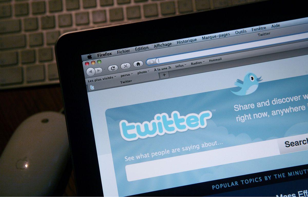 La page d'accueil du réseau social Twitter. – LOIC VENANCE / AFP