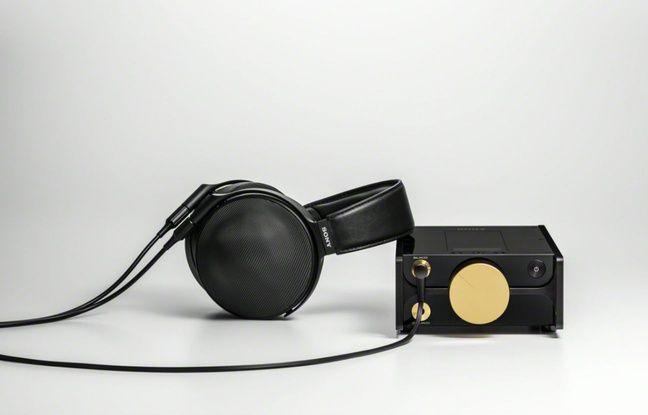 Le lecteur audio DMP-Z1 et le casque MDR-Z1R.