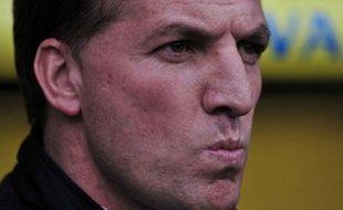 Brendan Rodgers, l'entraîneur de Liverpool, le 20 avril 2014.