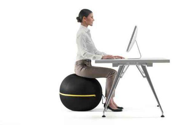 Le siège ballon de Technogym.
