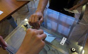 Un bureau de vote, le 11 juin 2017, à Toulouse.