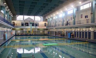 L'intérieur de la piscine Saint-Georges à Rennes.