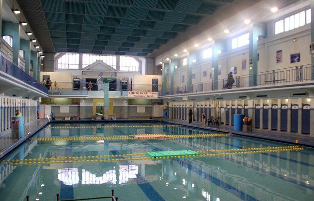 Rennes la piscine saint georges remplie de bi re le temps for Piscine saint georges