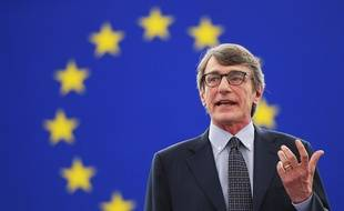 David Sassoli, le 3 juillet 2019 à Strasbourg.