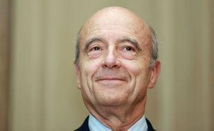 Alain Juppé le 10 octobre 2014 à la mairie de Bordeaux.