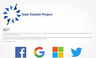 Facebook, Google, Microsoft et Twitter s'allient pour le Data Transfert Project