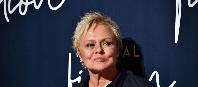 Muriel Robin à La Rochelle, le 12 septembre 2018.
