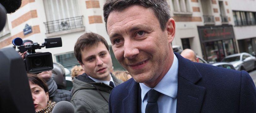 Benjamin Griveaux, le 8 mai 2017 à Paris