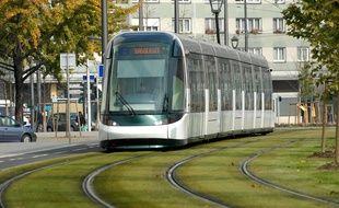 Parmi les rendez-vous de l'année 2017 figure le lancement de la ligne de tram vers Kehl, prévue fin avril. Illustration