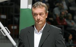 Pierre Vincent, le coach de l'Asvel.