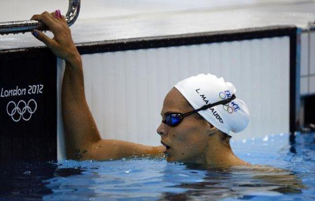 La nageuse française Laure Manaudou, aux Jeux olympiques de Londres, le 29 juillet 2012.