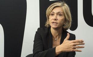 Valérie Pécresse, lors d'un précédent déplacement à Chanteloup-les-Vignes, le 8 novembre 2019.