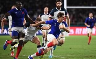Baptiste Serin retrouve une place de titulaire dans le XV de France pour le match face aux Tonga, le 6 octobre 2019.