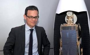 Stéphane Israël, le PDG d'Arianespace, le 18 juin 2013 au Bourget