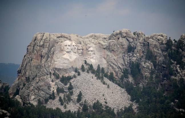 Coronavirus: Le Covid bat des records aux Etats-Unis, Trump s'envole pour le Mont Rushmore