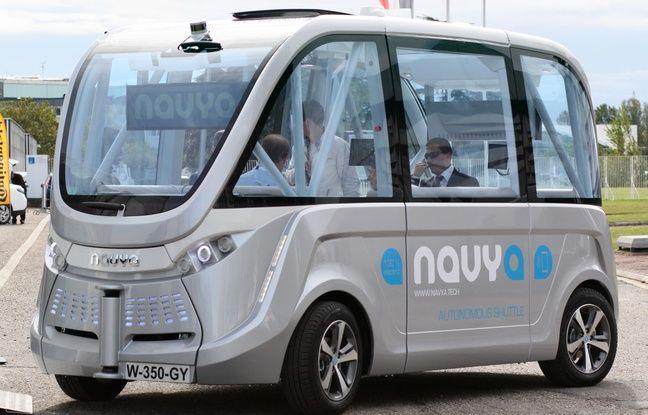 Lyon: La ville continue d'expérimenter les navettes sans pilote, deux nouveaux modèles bientôt testés au Parc OL