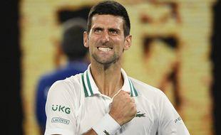 Novak Djokovic, le 18 février 2021.