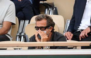 Fabien Galthié, le 8 juin 2021, à Roland-Garros. Tuesday june8, 2021.