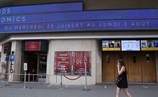 L'entrée du cinéma Le Grand Rex, à Paris le 31 juillet 2020.