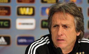 L'entraîneur du Benfica Lisbonne Jorge Jesus en février 2014.