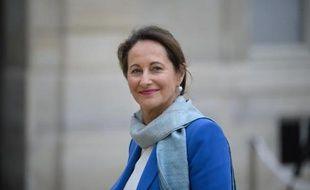 Ségolène Royal à son arrivée au palais de l'Elysée, le 4 avril 2014