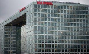 Le siège de l'hebdomadaire allemand, Der Spiegel, à Hambourg, le 29 novembre 2012.